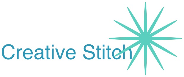 Creative stitch logo